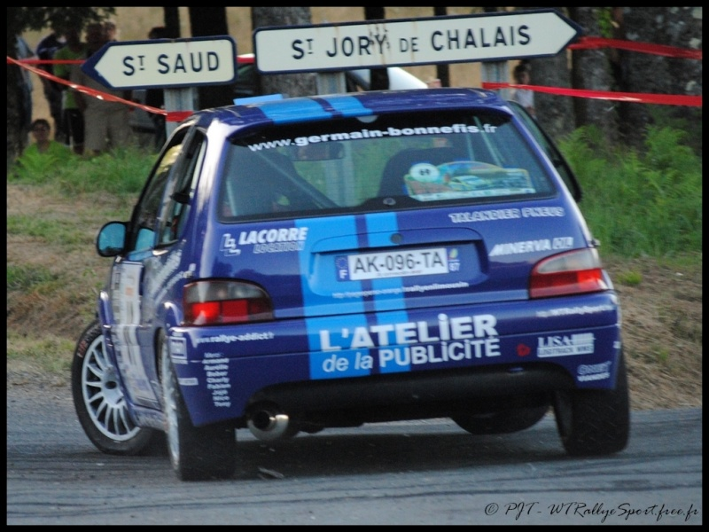 Laurent SURVILLE / Alexandra GRAND - CITROEN Saxo A6 Wtrs-t33