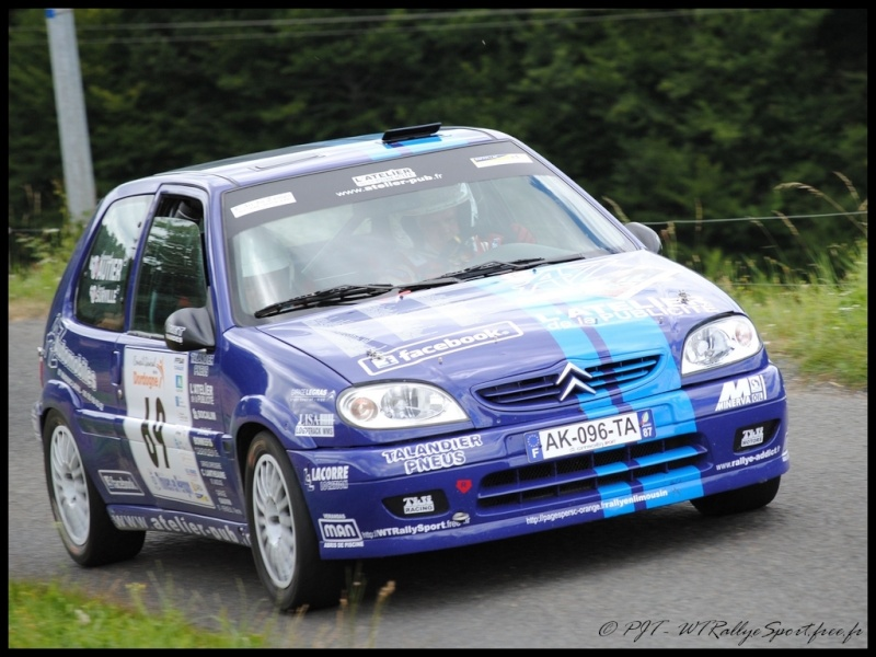 Laurent SURVILLE / Alexandra GRAND - CITROEN Saxo A6 Wtrs-t34
