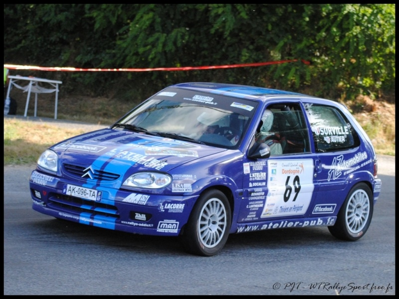Laurent SURVILLE / Alexandra GRAND - CITROEN Saxo A6 Wtrs-t35
