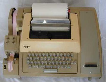 le télétype et autres diverses babioles... Telety10