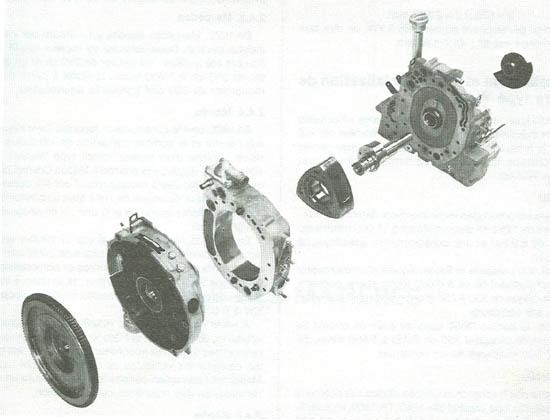 fonctionnement du moteur Wankel C16-mo10