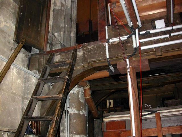 Instruments monumentaux avec façade de tuyaux Snpout10