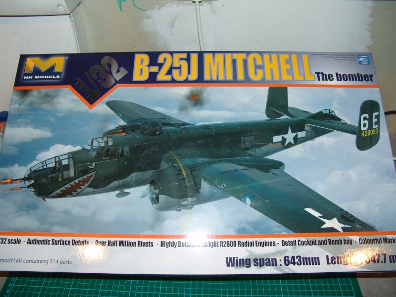 "HK MODELS B-25J MITCHELL "" THE BOMBER "" Dsc04210"