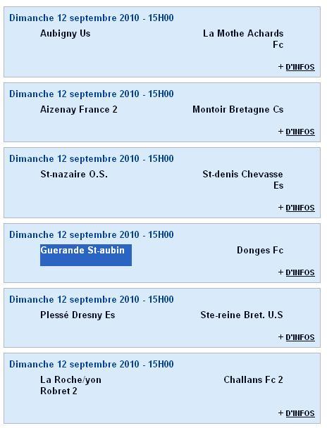 Groupe des Senior A (PH - Groupe B) et 1er match - Saison 2010-11 Sag_se10
