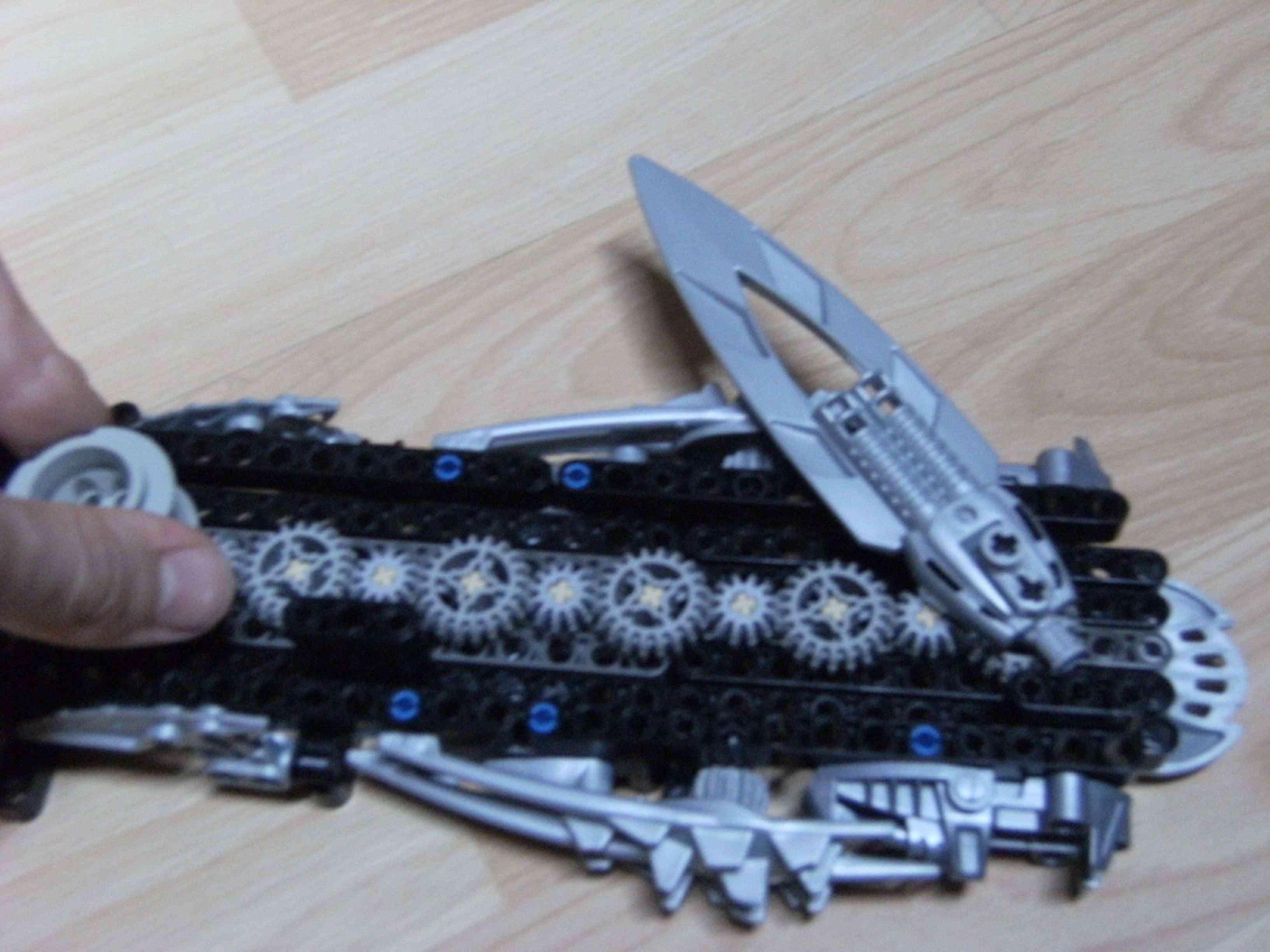 [Moc] WIP : Brotherhood's Weapons Dscf1317