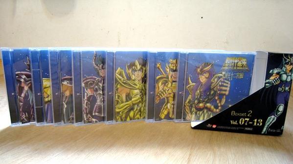 Les VCD Saint Seiya Carpen10