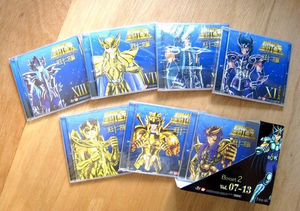 Les VCD Saint Seiya Carpen11