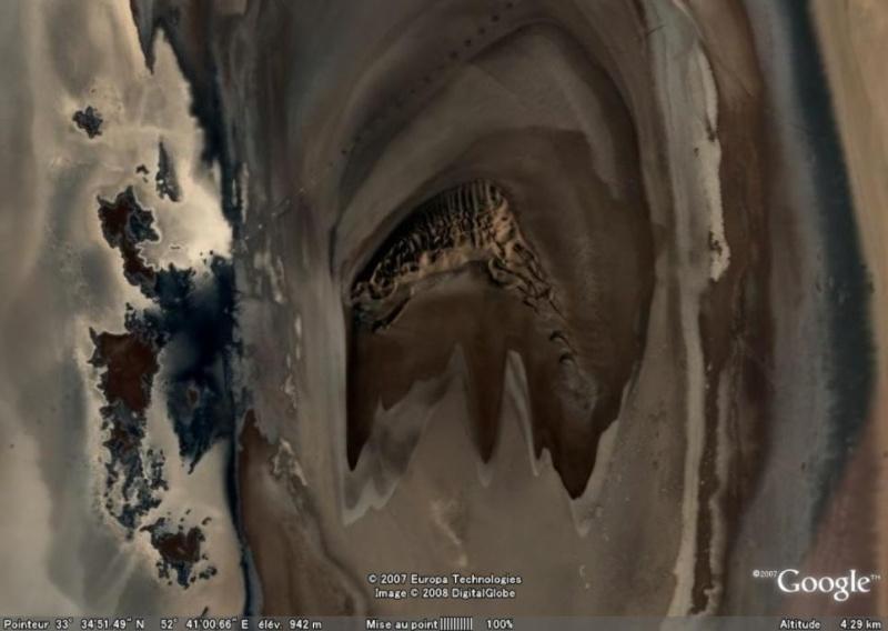 Formation étrange, Amirabad-e Zavareh - Iran [C'est quoi ?] Duneir11
