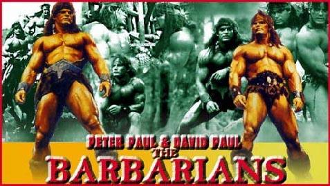 David et peter PAUL (les barbarians) Thebar10