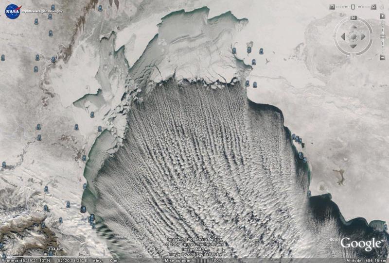 Earthobservatory - NASA Caspie10