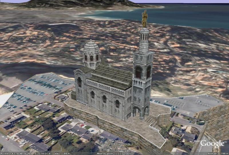 Bâtiments 3D avec textures - France [Sketchup] Notre_10