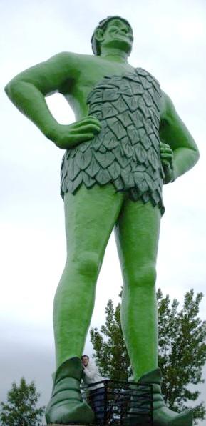 Geant vert, Blue Earth, Minnesota - USA Geant210