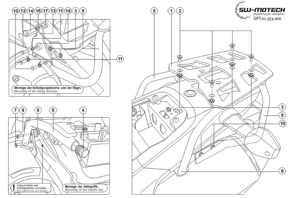 Výroba držáku zavazadel Motech10
