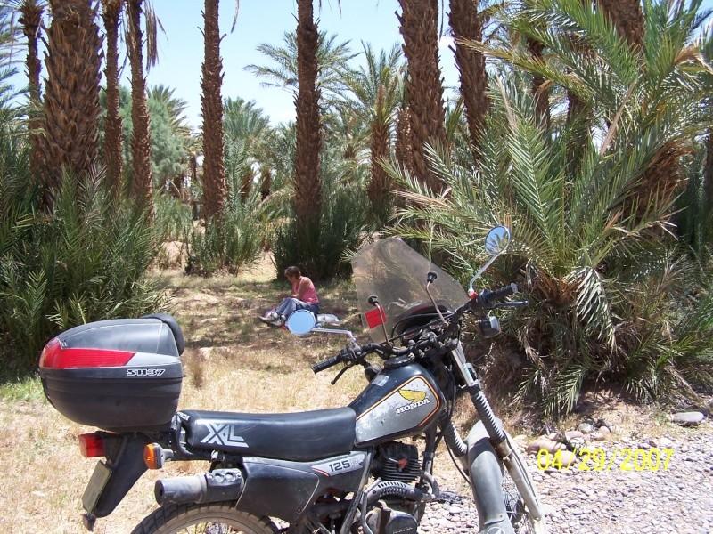 Scooter, moto ou vélo  ? Maroc211