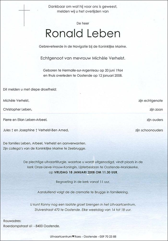 Déces - Overlijden (1) - Page 3 Leben-10
