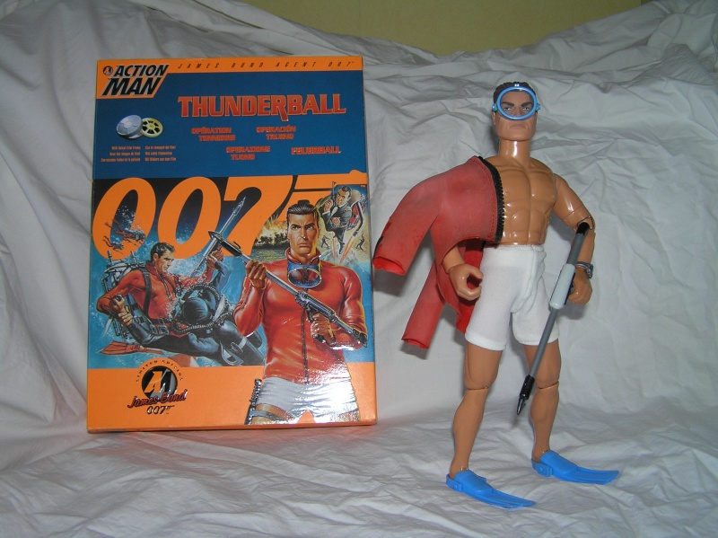 Action Man modernes - James Bond Collection Pb161110