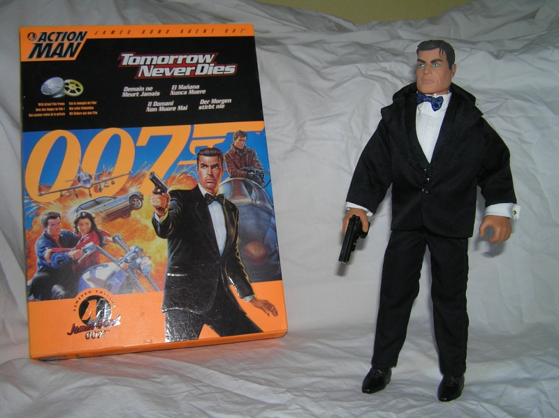 Action Man modernes - James Bond Collection Pb161111