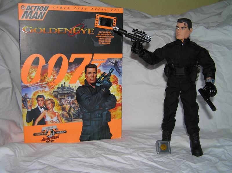 Action Man modernes - James Bond Collection Pb161112