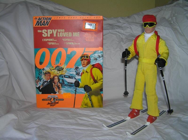 Action Man modernes - James Bond Collection Pb161113