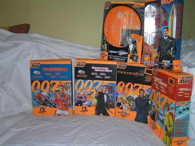 Action Man modernes - James Bond Collection Pb161117