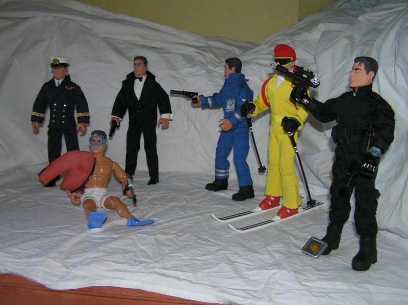 Action Man modernes - James Bond Collection Pb161119