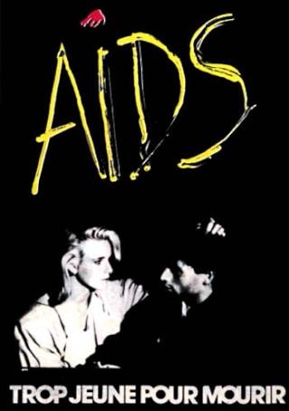 Arts Graphiques: L'AFFICHE Aids_t10