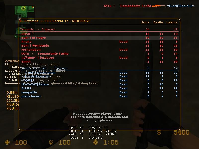 Screens de scores! De_dus10