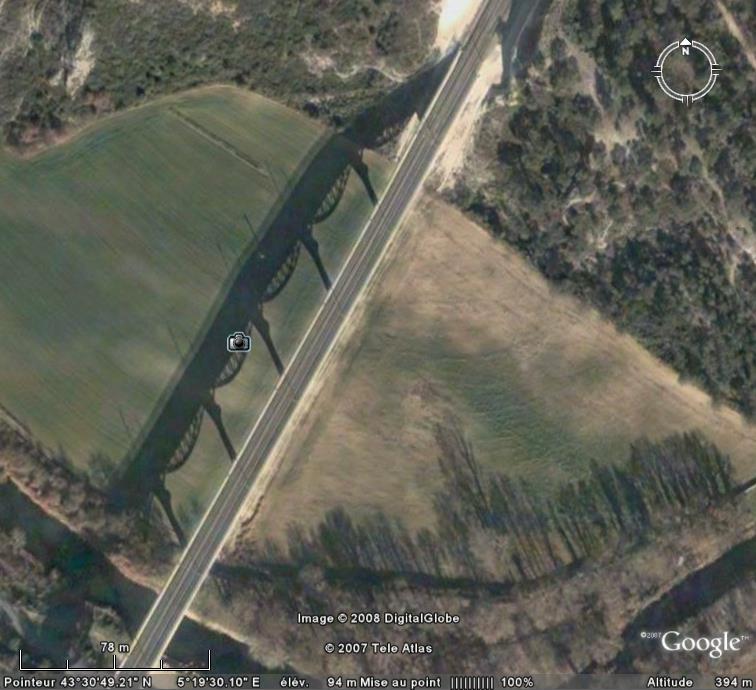 Les ponts du monde avec Google Earth - Page 9 Roquef10
