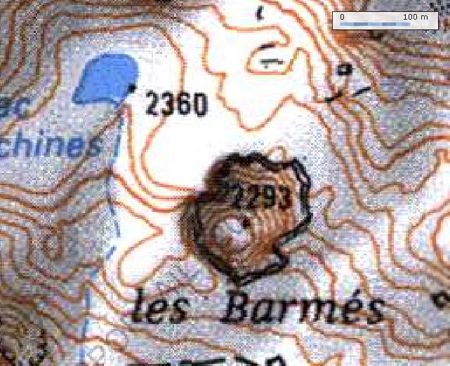 Tignes - col du Palet - lac des Échines Barmes10