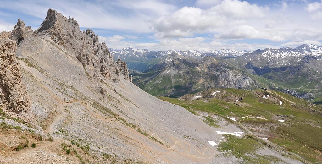 L'Aiguille Percée Chemin10