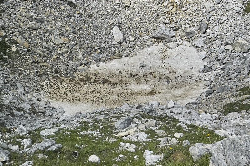 Tignes - col du Palet - lac des Échines Img09610