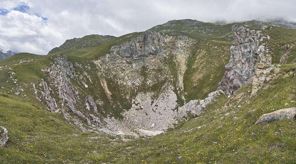 Tignes - col du Palet - lac des Échines Trouba10