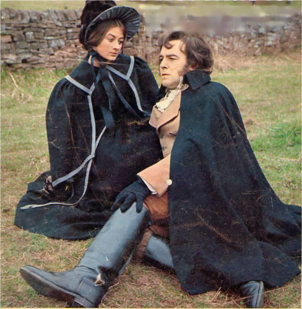 Jane Eyre, adaptation télévisée de 1973.  Jane-e10