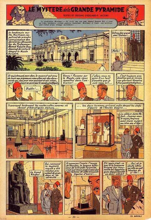L'Egypte antique dans la littérature, le cinéma et la bande-dessinée.  Planch10
