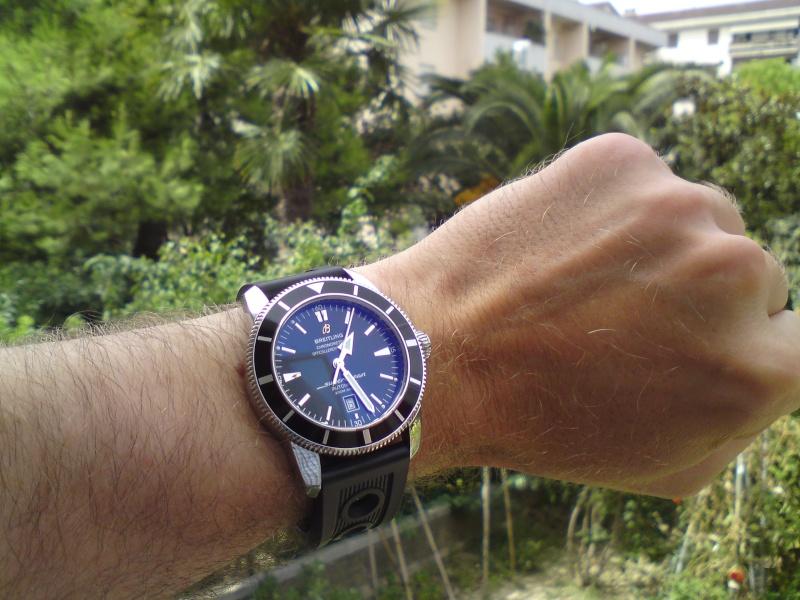 Omega planet ocean45mm VS Breitling super ocean heritage 46mm Dsc00010