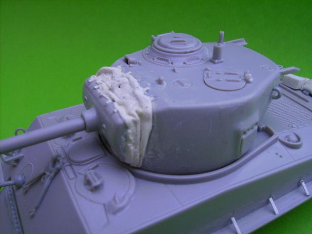 M4A3E8 sherman corée 1/72° E91211