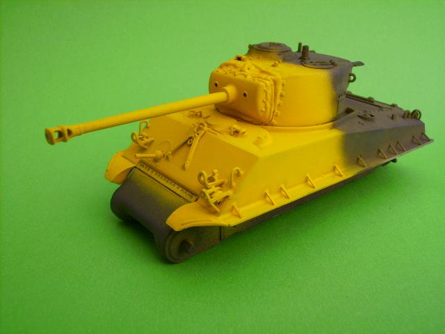 M4A3E8 sherman corée 1/72° E91610