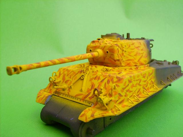 M4A3E8 sherman corée 1/72° E91810
