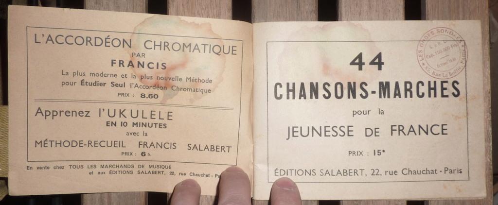 petit lot de papiers et cartes d'identité époque Vichy, CJF P1060144