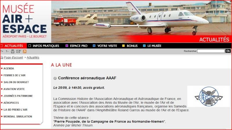 M.A.E: conférence consacrée à Pierre Pouyade le 25 septembre Captur11