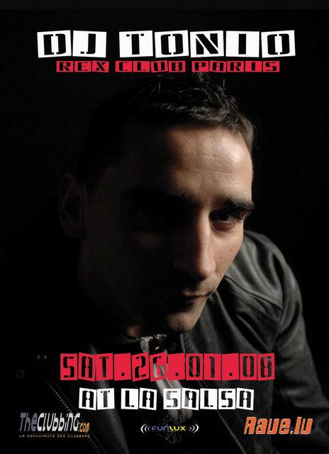 26.01.2008 Dancefloors Killers Presents Tonio @ Salsa Virton Tonio10
