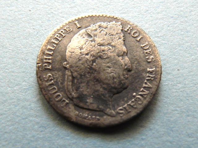 Francia, 1/4 de franco, 1842. 2008_023