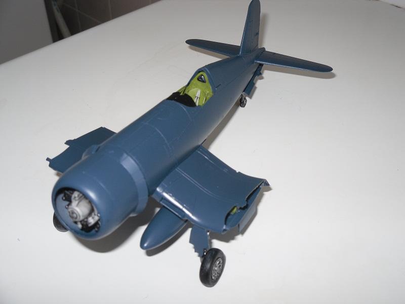 corsair - Corsair F4U-1D Tamiya 1/48°-TERMINE- Aigle du Pacifique Sam_0112