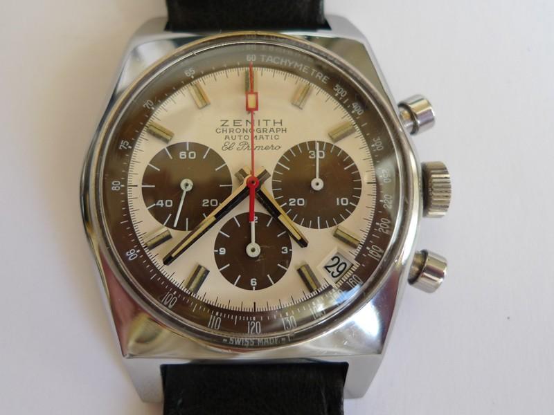 Estimation Chronograph El Primero 36000/h 1971 Zen310