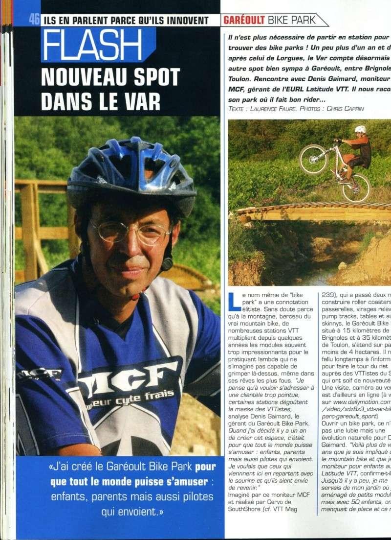 garéoult - Garéoult*Bike park lattitude VTT* Vttmag10
