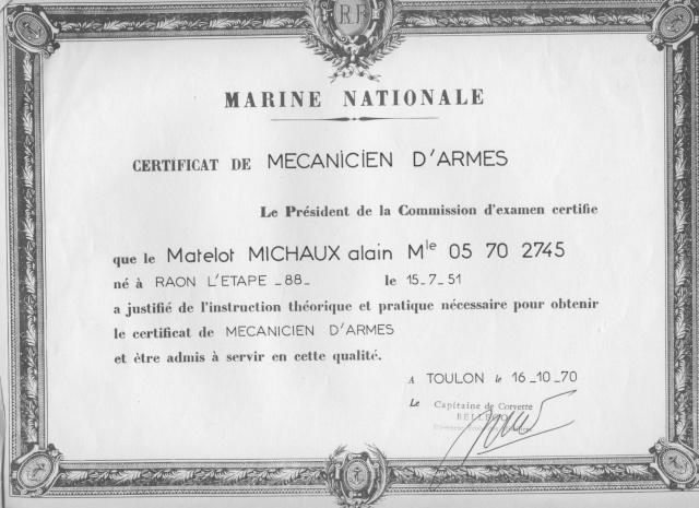 Le Groupe des Écoles d'Armes - Page 3 Certif10