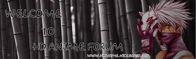 HD Anime Forum