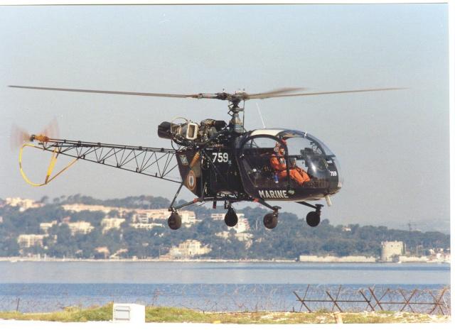 [Aéronavale divers] Hélicoptére ALOUETTE 2 - Page 2 1113