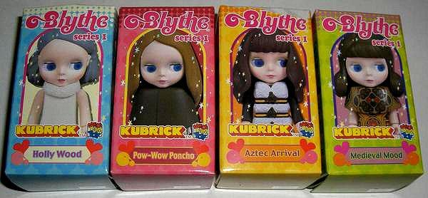 Blythe Kubrick lego Blythe10