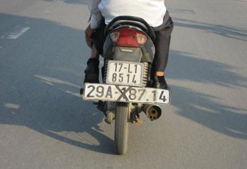 Biển số xe 'siêu độc' chỉ có ở Việt Nam 343a1f10